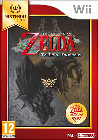 The Legend of Zelda Twilight Princess - Edition Selects - Nintendo Wii
