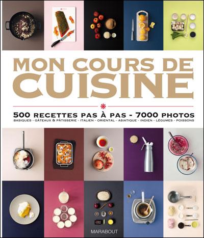 Mon cours de cuisine broch collectif livre tous les for Donner des cours de cuisine