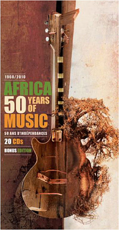 Africa - 50 years of music - Coffret 20 CD