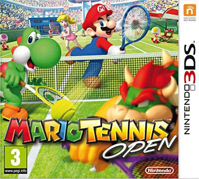 Mario Tennis Open - Nintendo 3DS