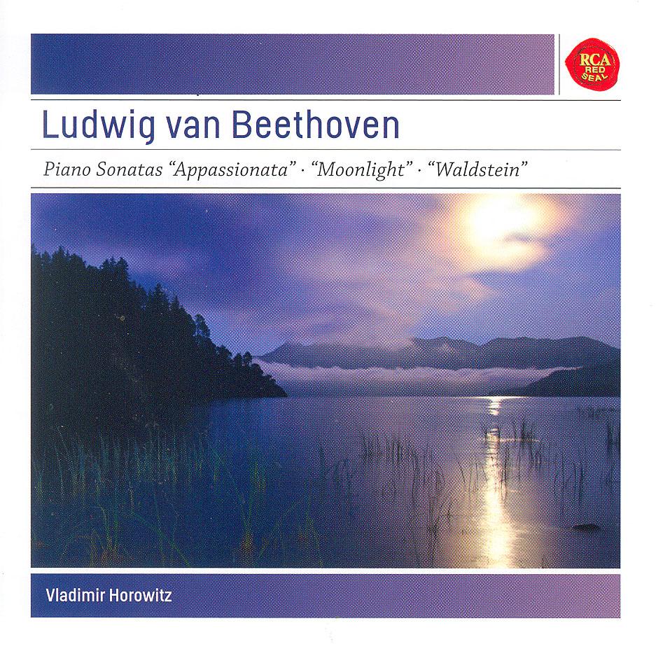 Sonates pour Piano opus 57 appassionata - Opus 27 2 moonlight - Opus 53 waldstein