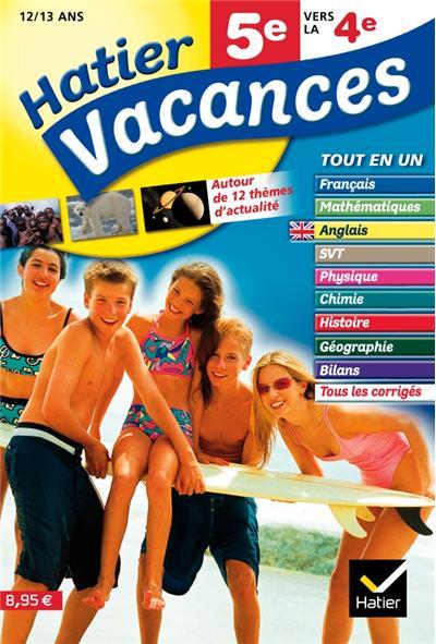 cahier de vacances 5 eme