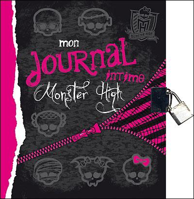 Monster High - Mon journal intime - Collectif - broché