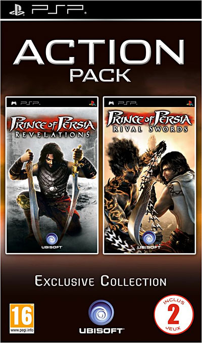 Prince of Persia - Rival Sword & Revelation - PSP
