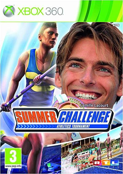 Camille Lacourt Summer Challenge - Xbox 360