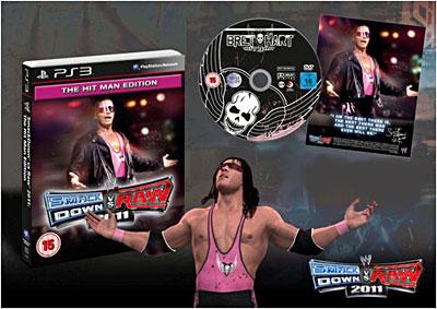 WWE Smackdown vs Raw 2011 - The Hitman Edition - PlayStation 3