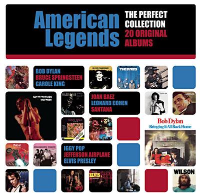 La discothèque idéale en 20 albums originaux - American legends