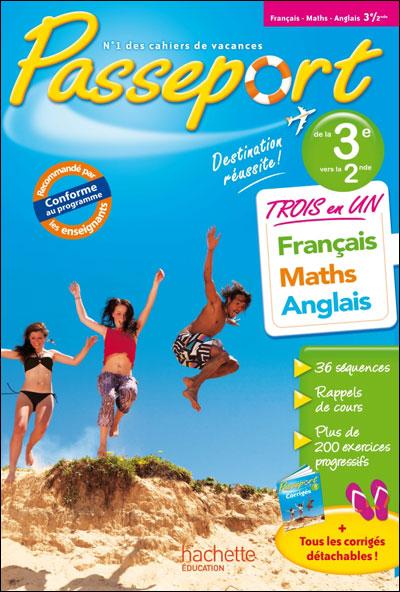 cahier de vacances francais 3eme
