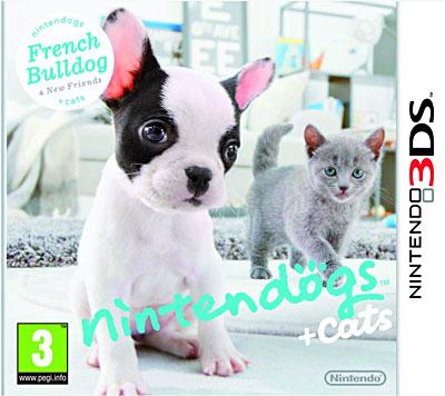 Nintendogs + Cats Bouledogue Français et ses nouveaux amis - Nintendo 3DS