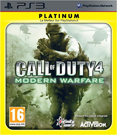 Call of Duty 4 Modern Warfare - Edition Platinum - PlayStation 3