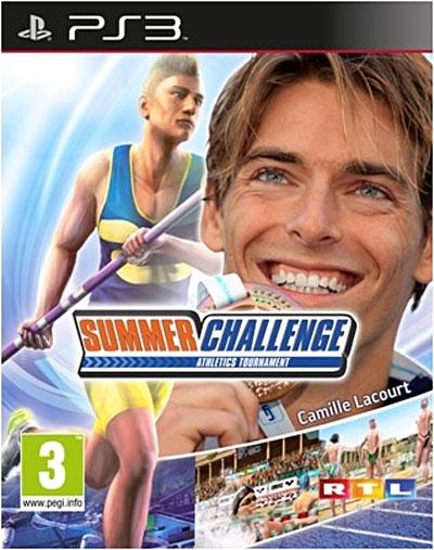 Camille Lacourt Summer Challenge - PlayStation 3