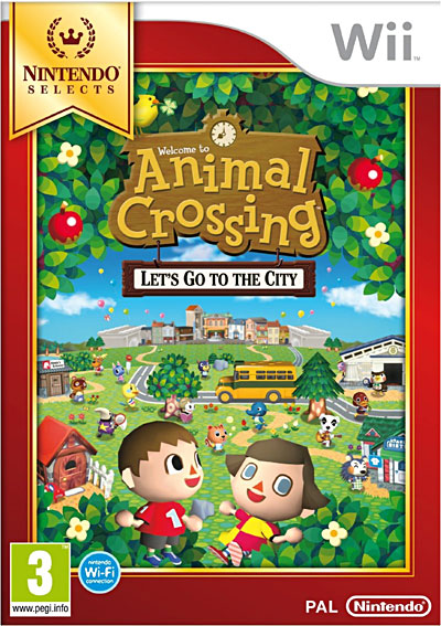 Animal Crossing - Let's go to the city - Edition Selects - Nintendo Wii