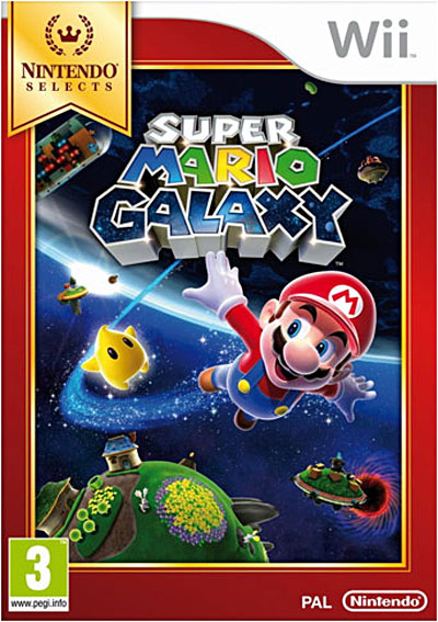 Super Mario Galaxy - Edition Selects - Nintendo Wii
