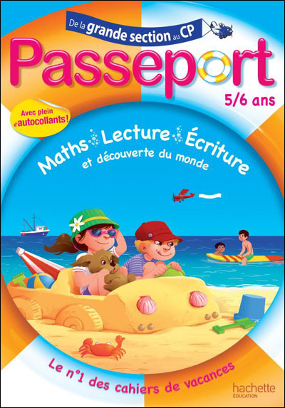 cahier de vacances grande section cp
