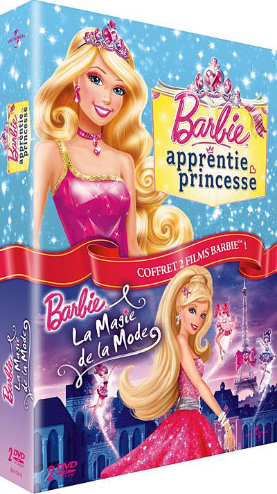a Barbie apprentie Princesse La magie de la Mode Coffret DVD Zone