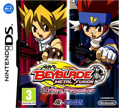 Beyblade Metal Fusion + Cyber Pegasus Toupie - Nintendo DS
