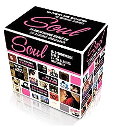 Soul la discothèque idéale - Coffret 20 CD