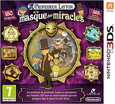 Professeur Layton et le Masque des Miracles - Nintendo 3DS