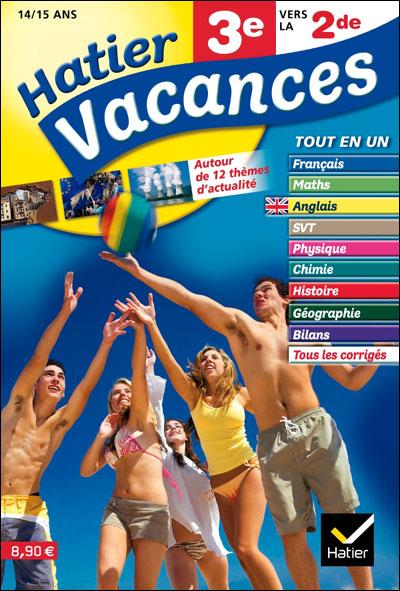 cahier de vacances 3e