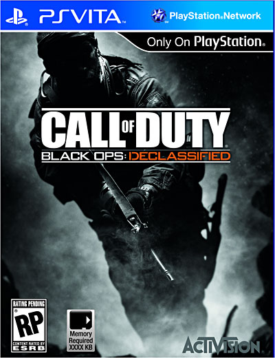 Call of Duty Black Ops - Declassified - PS Vita