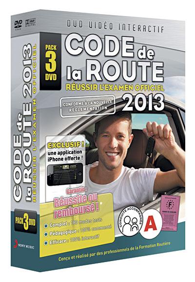 le code de la route 2013 coffret 3 dvd dvd zone 2 tous les dvd la fnac. Black Bedroom Furniture Sets. Home Design Ideas