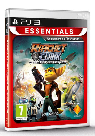 Ratchet & Clank Tools of Destruction Gamme Essentials - PlayStation 3
