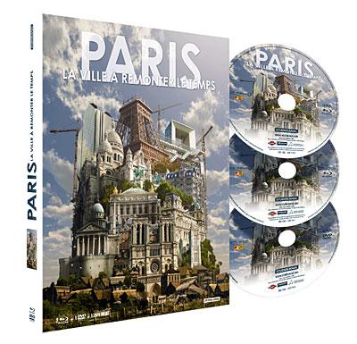 Paris : La ville à remonter le temps - Combo Blu-Ray + DVD - Edition Collector