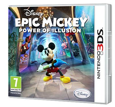 Disney Epic Mickey 2 - Power of illusion - Nintendo 3DS