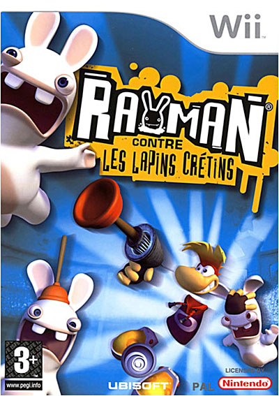 Rayman contre les Lapins Crétins - Gamme Select - Nintendo Wii