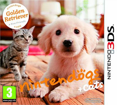 Nintendogs + Cats Golden Retriever et ses nouveaux amis - Nintendo 3DS