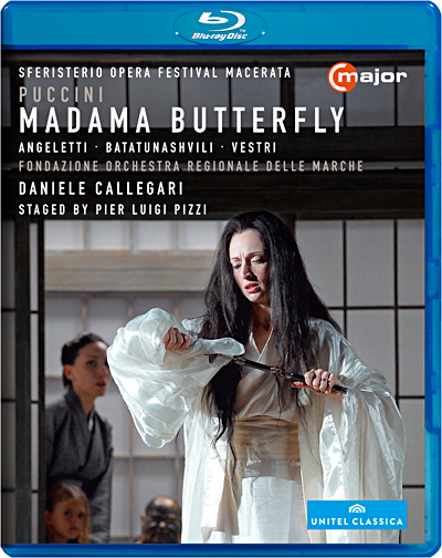 Madame Butterfly - Blu-Ray