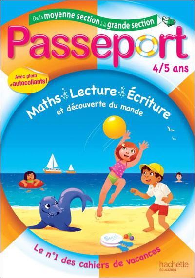 cahier de vacances grande section maternelle