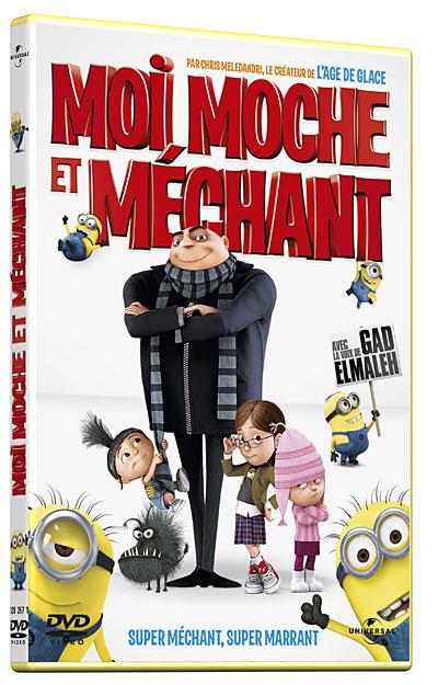 Moi, moche et méchant  DVD Zone 2  Pierre Coffin  Chris Renaud  Achat &am
