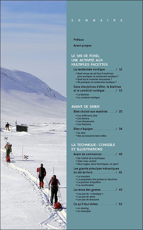 Le ski de fond : skating - classique - broché - Renaud ...