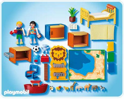Playmobil 4287 chambre des enfants playmobil acheter for Playmobil kinderzimmer 4287