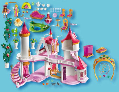 Chateaux Playmobil Princesse : Playmobil palais de princesse fnac