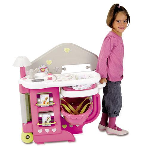 Smoby baby nurse maison des b b s maison de poup e - Maison de jardin smoby ...