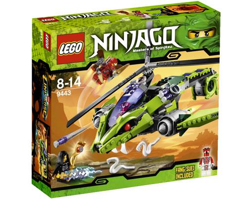 Lego ninjago 9443 le sercoptere lego achat prix fnac - France 3 ninjago ...