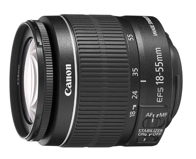 Canon EF-S 18 - 55 mm f/3,5 - 5,6 IS II EFS1855ISII