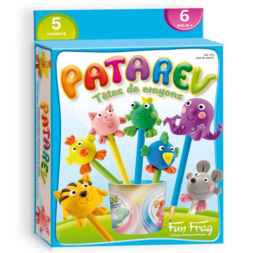 Fnac.com : FunFrag Patarev : Blister Têtes de crayons - Pâte à modeler. Achat et vente de jouets, jeux de société, produits de puériculture. Découvrez les Univers Playmobil, Légo, FisherPrice, Vtech ainsi que les grandes marques de puériculture : Chicco,