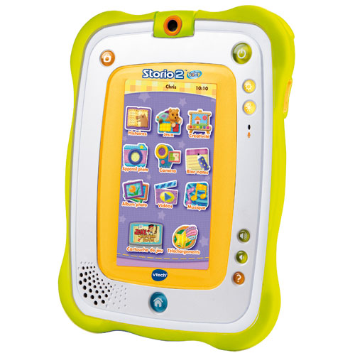 tablette tactile enfant vtech storio 2 baby tablettes. Black Bedroom Furniture Sets. Home Design Ideas