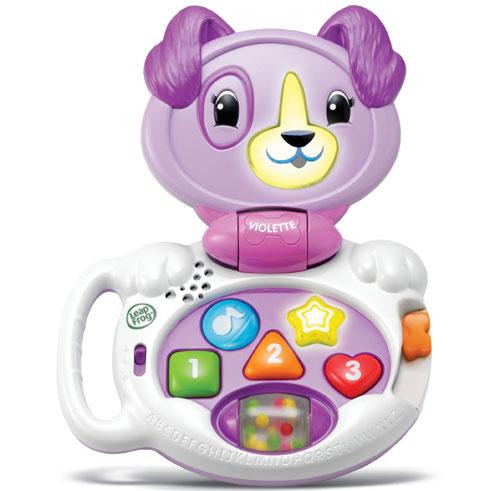 Mon Ordi Baby Violette propose plus de 40 chansons et activités pour que les tout-petits puissent s´amuser et apprendre avec leur premier ordinateur ! Avec un format adapté à leur âge, - ils apprendront les couleurs, les formes, les nombres en appuyant su