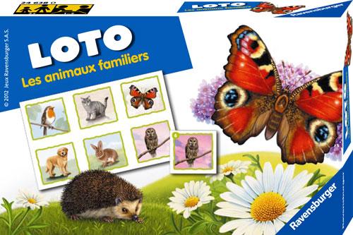 Petit loto classique. Contenu : 30 images, 5 planches.