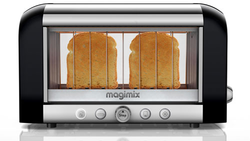grille pain magimix toaster vision 11529 noir acheter sur. Black Bedroom Furniture Sets. Home Design Ideas