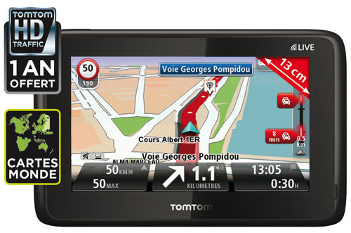 gps tomtom go live 1005 monde services live offerts pendant 1 an gps portable achat. Black Bedroom Furniture Sets. Home Design Ideas