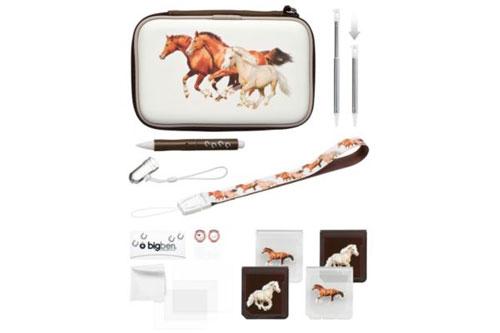 pack big ben chevaux pour nintendo 3ds accessoire. Black Bedroom Furniture Sets. Home Design Ideas