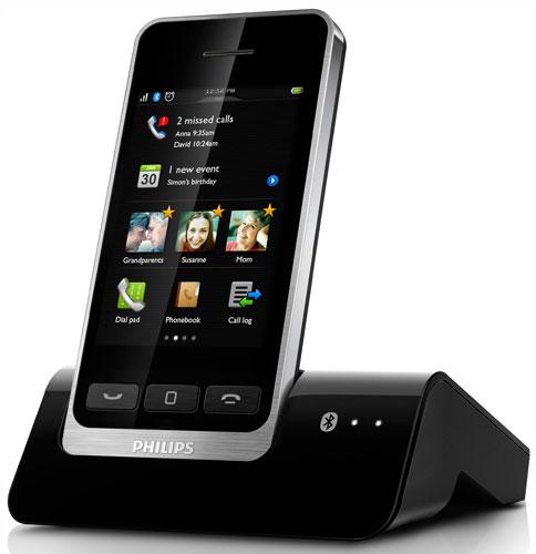 Philips s10a mobilelink solo t l phone sans fil - Telephone fixe sans fil longue portee ...