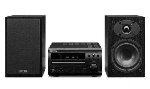 La micro-cha�ne D-M39 avec ampli, tuner/lecteur de CD offre un son de haute