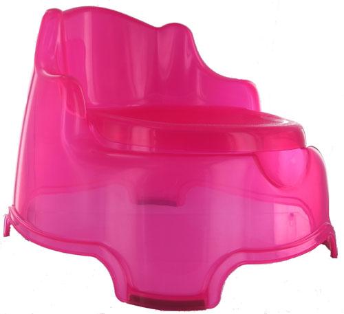 Grand couvercle pour transformer le pot en fauteuil.