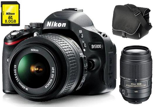 Pack Fnac Nikon D  Obj AF S DX VR serie G mm f Fourre tout Carte SDHC Go a w
